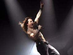 rock of ages movie | Tom Cruise as Stacee Jaxx in the film version of 'Rock of Ages'