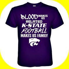 Kansas State Wildcats #KSU shirt #Football #Family