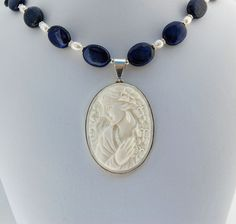 Beautiful original cameo - perfect mother's day gift - or just to celebrate femininity