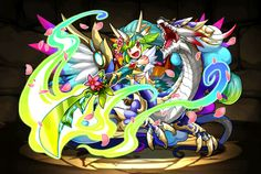 Report Errors Monsters with Same Skill Monsters in Same Series Template:UnknownN/A ◀ Data Evo Tree Compare Stats Create Guide ▶ This game content is JAPANESE ONLY The content of this page is currently only available in the Japanese version of Puzzle & Dragons. However, it might be added in future updates for the English version. Name 樹龍戦姫・セイントプラン Attribute Wood/ Water Type Dragon/ Balanced Number 1320 Rarity ★6 Exp to Max Lv 4000000 Series Unclassified Basic Stats Cost 30 Max Lv 99 Lv 1...