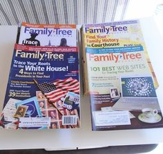 Family Tree Magazine. Genealogy and Ancestor research. 44 issues covering years of 2002 thru 2009. Well over $200 value.