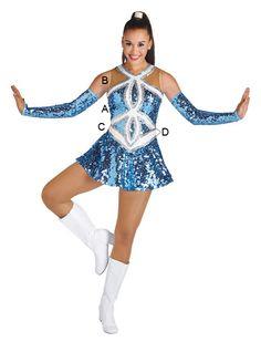 Majorette Costume (Eternity Dress)
