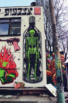 street art in Friedrichshain, Berlin