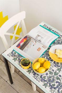 DIY: tile table
