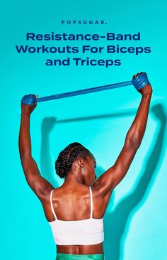 Biceps And Triceps, Triceps Workout, Endurance Training, Strength Training, Resistance Band Exercises, Arm Exercises, Hiit Program, Compound Exercises, Yoga For Weight Loss