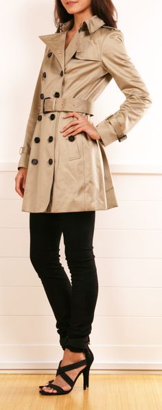 I want a trench coat for fall.  Worth the purchase, classic...will not go out of style.
