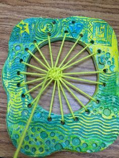 is Art Day!: Clay and Weaving! colored with oil pastels, construction paper crayons, and water color paint.It is Art Day!: Clay and Weaving! colored with oil pastels, construction paper crayons, and water color paint. Clay Art Projects, School Art Projects, Ceramics Projects, Weaving Projects, Project Projects, Club D'art, Art Club, Weaving For Kids, 4th Grade Art