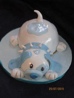 Α blue pale puppy. Italy, Puppies, Cakes, Children, Blue, Young Children, Italia, Cubs, Boys
