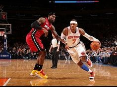 Phantom: LeBron James Versus Carmelo Anthony