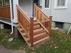 Best How To Build Exterior Stairs For The Home In 2019 400 x 300