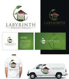 Create a great logo and business card for a new property services business by PIXMA