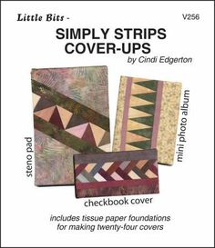 Little Bits Simply Strips Cover Ups pattern