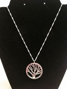 Silver Wishing Tree Necklace by KelsysCharm on Etsy, $11.00