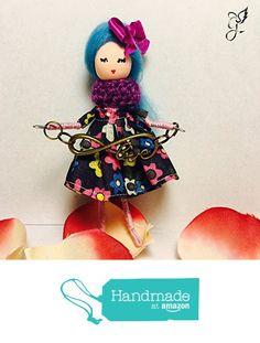 Broche muñeca Julieta de MON JULIETA https://www.amazon.es/dp/B01N2GNHUB/ref=hnd_sw_r_pi_dp_lGTpybP5PSX8S #handmadeatamazon