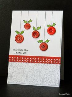 28 DIY Christmas Cards Ideas and Tutorials