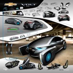 2025 Chevrolet Volt Concept Project by Daniel Kangas - Design Board