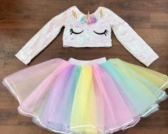 Unicorn Fashion, Unicorn Outfit, Unicorn Costume, Girls Fashion Clothes, Kids Outfits Girls, Kids Fashion, Girl Outfits, My Little Pony Dress, Cute Baby Costumes