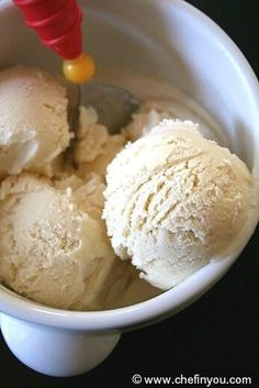 Eggless Vanilla Icecream #recipe. Very simple with no cooking involved.
