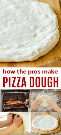How to Make Pizza Dough! Everyone's favorite pizza dough recipe! Make this New York style pizza crust and you will be know for your pizza making skills. This is how the best homemade pizza dough is made! Best Pizza Dough Recipe, New York Style Pizza Dough Recipe, Good Pizza, Pizza Pizza, Dough Pizza, Perfect Pizza, New Yorker Stil, Pizza Recipes, Cooking Recipes