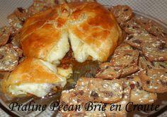 Melissa's Southern Style Kitchen: Praline Pecan Brie en Croute