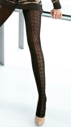 Image of Vancouver Patterned Tights