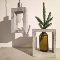 New concrete lamp. ◻️#concrete #concretejungle #concretelife #concretedesign…