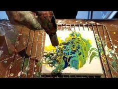 Acrylic and Rubbing Alcohol - YouTube
