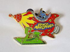 Disney Trading Pin - Stitch's Space Adventure Rocket Ride Pin (2005)