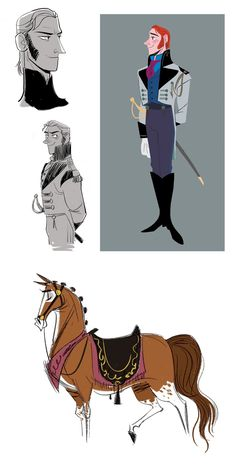 Bill Schwab_Frozen ✤ || CHARACTER DESIGN REFERENCES