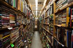 Chamblin Book Mine, Florida - 2 million books spread over 50,000 sq ft. Located south of Jacksonville (NE Florida).