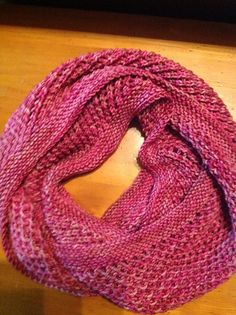 This cowl was created for a simple project that is just about enjoying the yarn and doing some relaxed knitting. Easy Knitting, Knitting Socks, Knitting Patterns Free, Crochet Patterns, Scarf Patterns, Finger Knitting, Knit Or Crochet, Crochet Scarves, Crochet Crafts