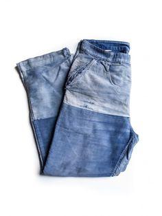 - 1920 moleskin patched pants