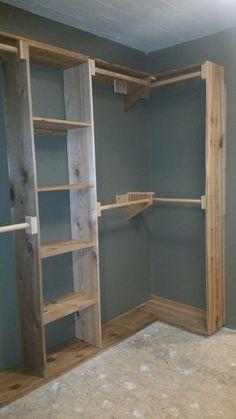 How To Install A Scrap Wood Wall   Pretty Handy Girl | Cedar Closet |  Pinterest