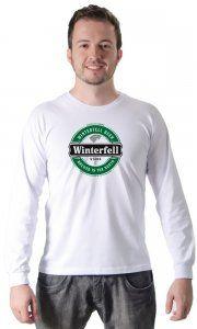 Camiseta Namorado Geek Winterfell Beer - Camisetas Personalizadas, Engraçadas e Criativas