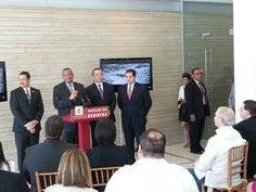 US Secretary of Transportation Anthony Fox in Puerto Rico