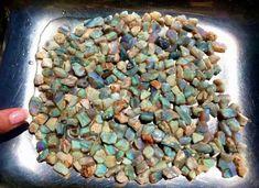 Australian Lambina Grey Base Rough Opal Parcel  9.5 troy ounces   (3053) #Ourownbrand
