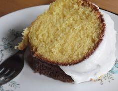 YUM! Lemon Sour Cream Bundt Cake add 1/3 c poppy seed too!
