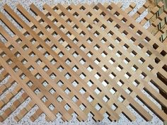 Wooden Lattice Router Table Jig