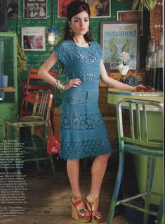 From Vogue Knitting Crochet 2013