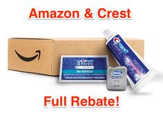 Amazon: Crest Sample Box with Full Credit :: http://www.heyitsfree.net/amazon-crest-sample-box-full-credit/
