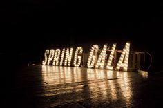 Spring Gala - what an entrance this would make and they tied it to their invitation #fundraising #gala