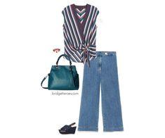 Five ways to wear denim culottes