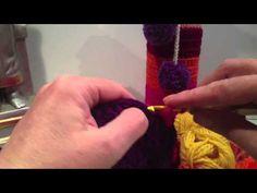 Hekle flaskecover - Happyknitting