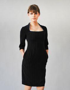 N.O.R.M.A stripy shift dress by Femkit on Etsy https://www.etsy.com/listing/207363488/norma-stripy-shift-dress