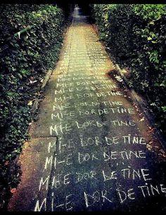 Tumblr Couples, Unconditional Love, True Words, Railroad Tracks, Favorite Quotes, Positive Quotes, Qoutes, City Photo, Sidewalk