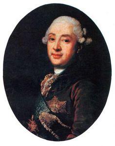 Портрет князя М. Голицына :: Vigilius Эриксен - мужские портреты 18 века