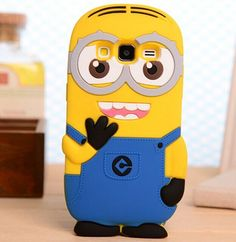 Cute Cartoon Samsung Galaxy J5 J7 Despicable Me 3D Silicon Cartoon Cover For…