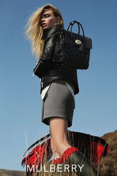 Cara Delevingne For Mulberry F/W 2014