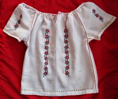 Folk Fashion, Kids Fashion, Vintage Fashion, Womens Fashion, Sewing Collars, Kurta Designs Women, Cross Stitch Embroidery, Crochet Baby, Designer Dresses