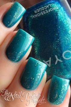 China Glaze Custom Kicks, Shower Together ; American Apparel Peacock ; Zoya Charla ; Sinful Colors Nail Junkie ; 9/9/12